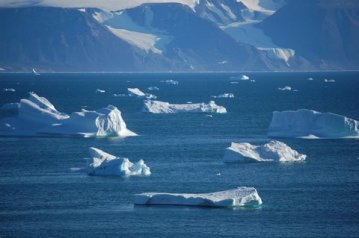 The Melting Ice Of The Arctic